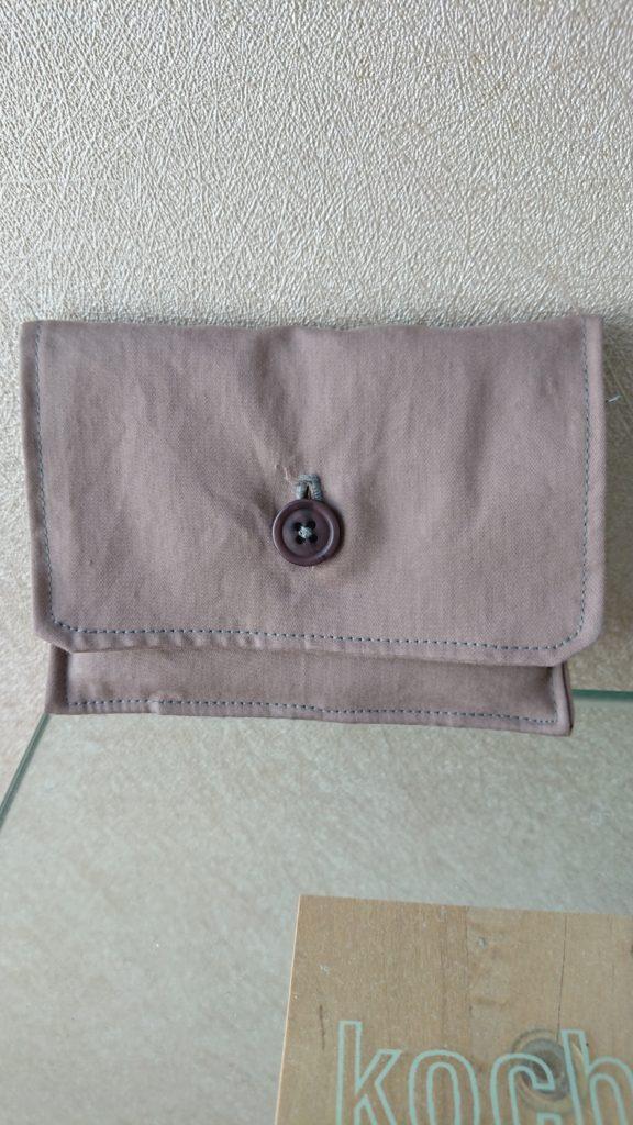 pochette à bouton pour mouchoirs
